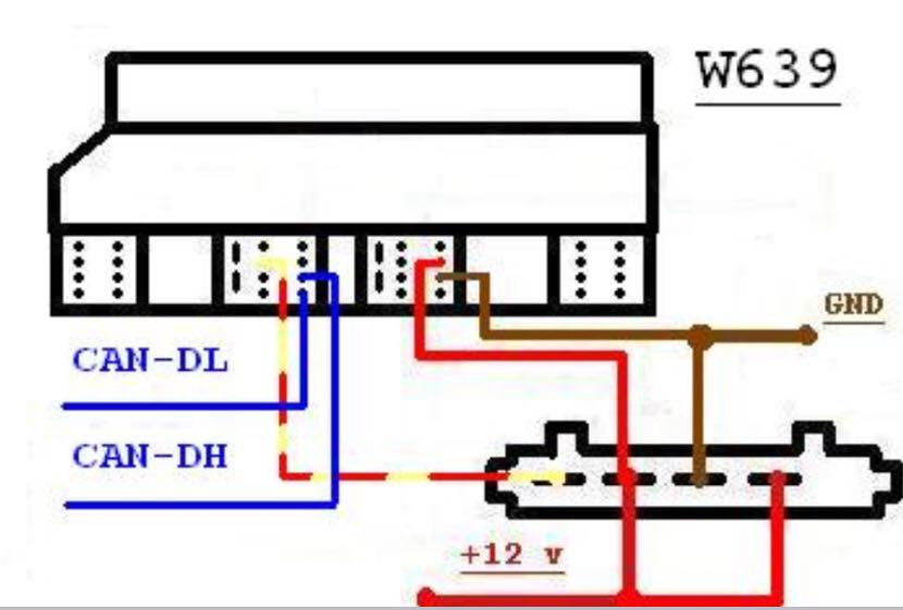 How to build Mercedes ECU test cables yourself (with Pinouts