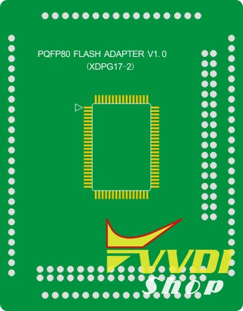 pqfp80-flash-adapter