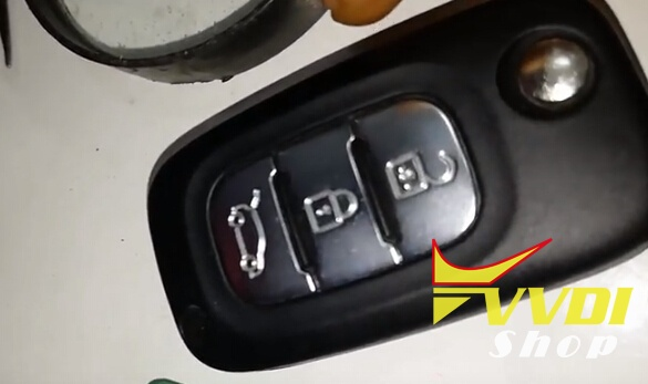 Vvdi Key Tool Renew Renault Fluence 3