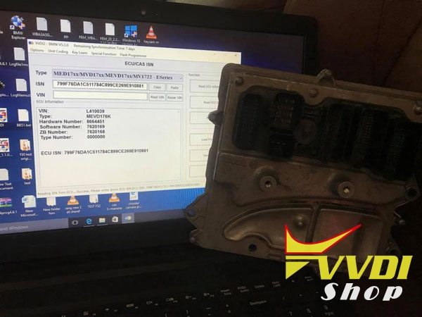 Read-ISV-MEVD7XX-X6-2012-using-VVDI2-by-obd-2