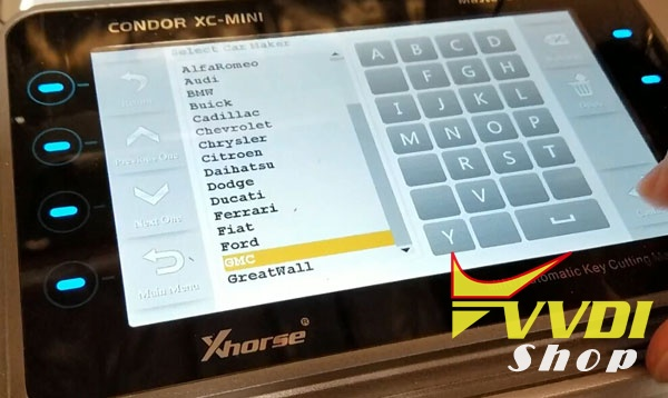 Xhorse Condor XC Mini KM03 Bluetooth vs KM02 | VVDIshop com
