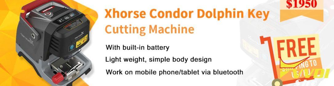 Xhorse-Condor-Dolphin-Key-Cutting-Machine