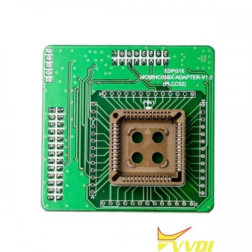 SO452-MC68HC05BX(PLCC52)-Adapter
