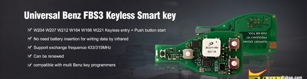 Universal-Benz-FBS3-Keyless-Smart-key
