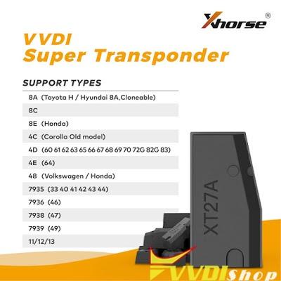 VVDI SUPER TRANSPONDER
