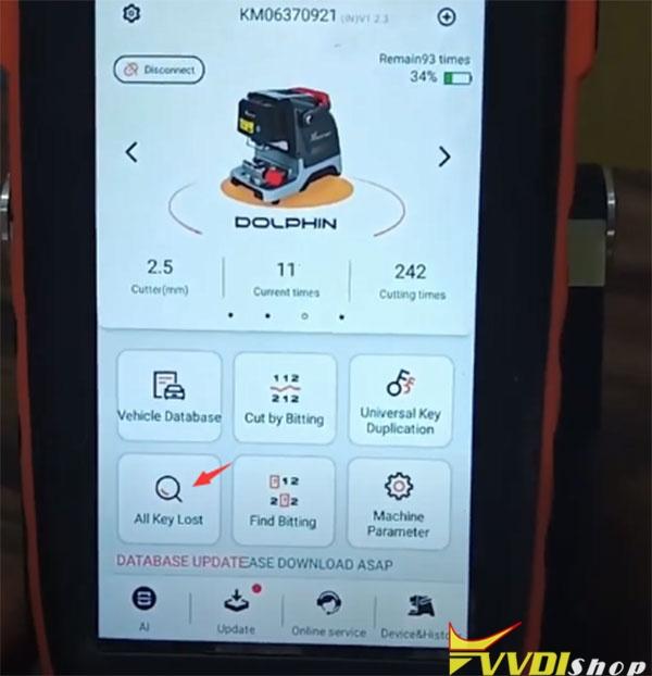 Dolphin Xp005 Key Tool Max Cut Tata Nexon Akl 2