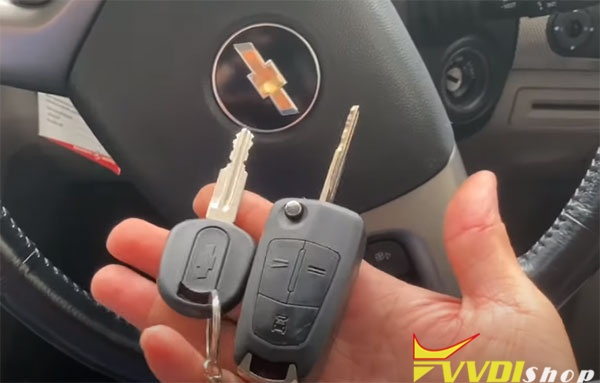 Key Tool Max Program 2011 Chevy Captiva 2