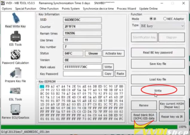 Vvdi Mb Gl45 Fbs3 Keylessgo Key 14
