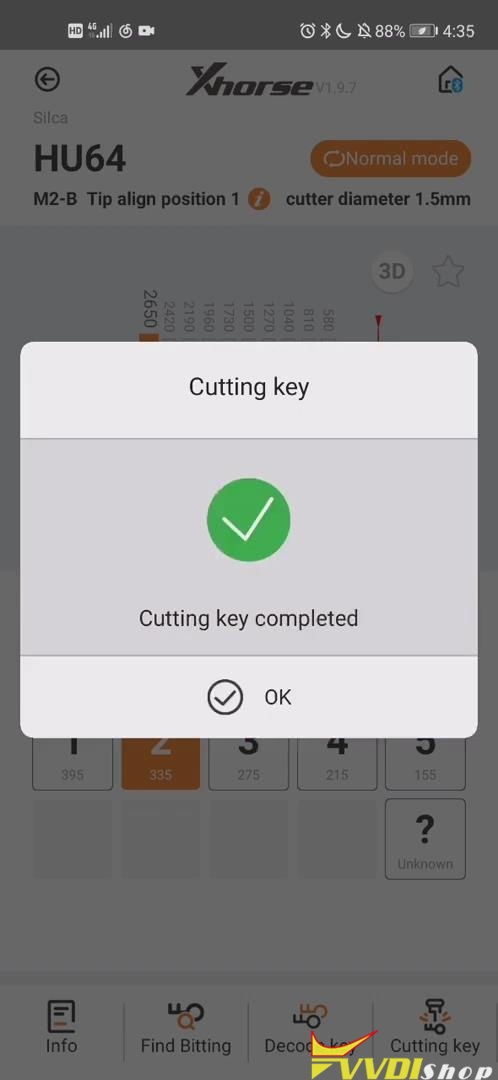 10 Key Cutting Completed