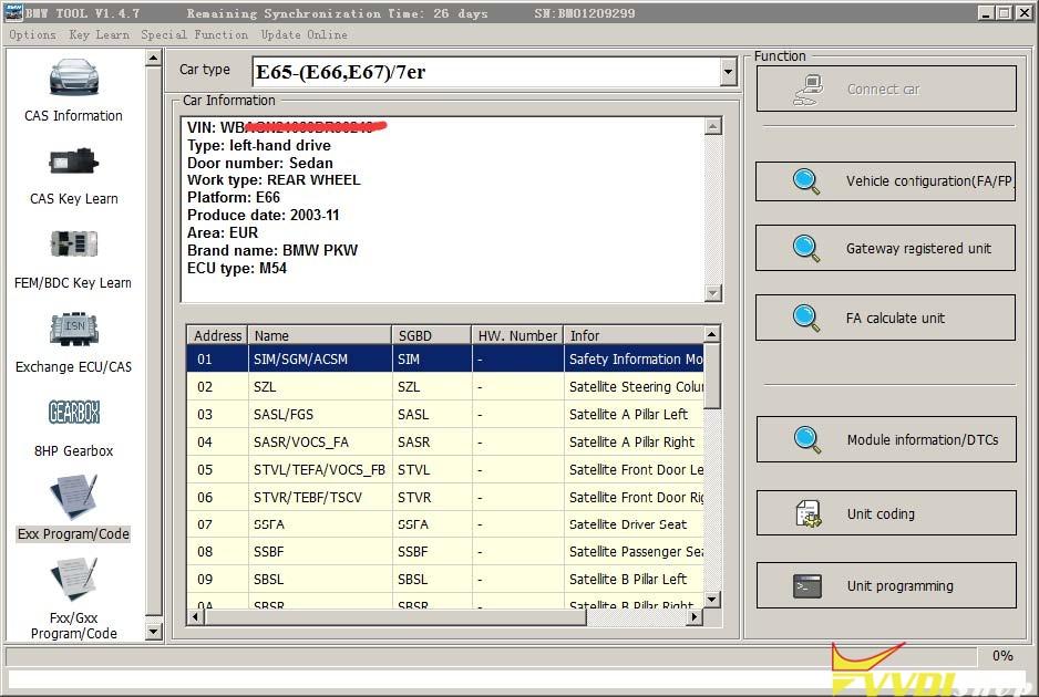 Vvdi Bim Tool Bmw Exx F G Programming Coding 03