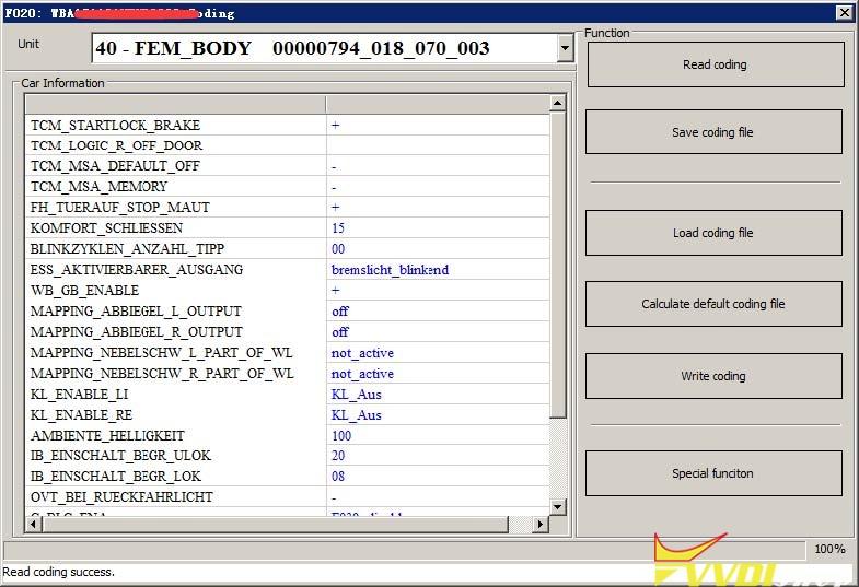 Vvdi Bim Tool Bmw Exx F G Programming Coding 11