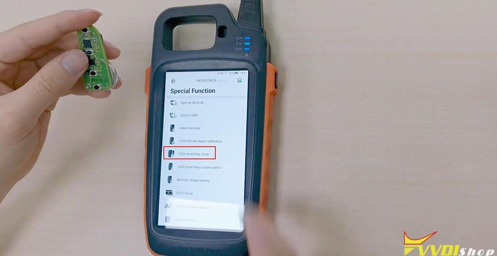 Xhorse Key Tool Max Vvdi Smart Key Clone 11
