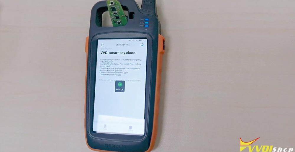 Xhorse Key Tool Max Vvdi Smart Key Clone 13