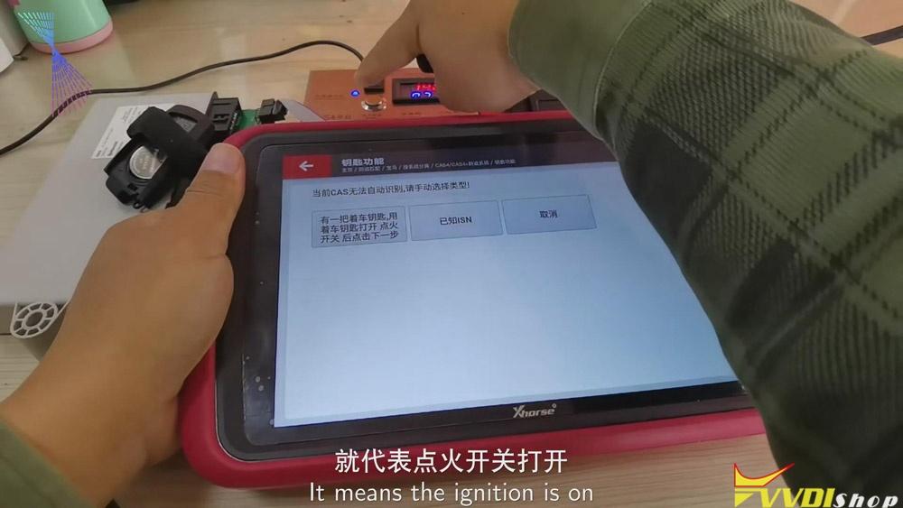 Match Bmw Cas4 Key Via Xhorse Vvdi Key Tool Plus 18