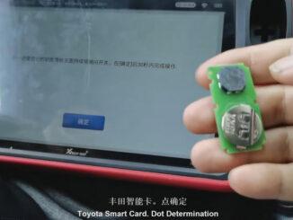 Xhorse Vvdi Key Tool Plus Matching Vvdi Toyota 8a Smart Card 09