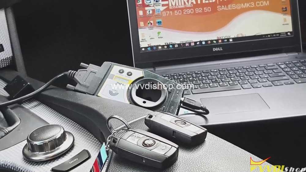 Xhorse Vvdi2 Program Bmw Cas2 3 Remote Key Obd 02