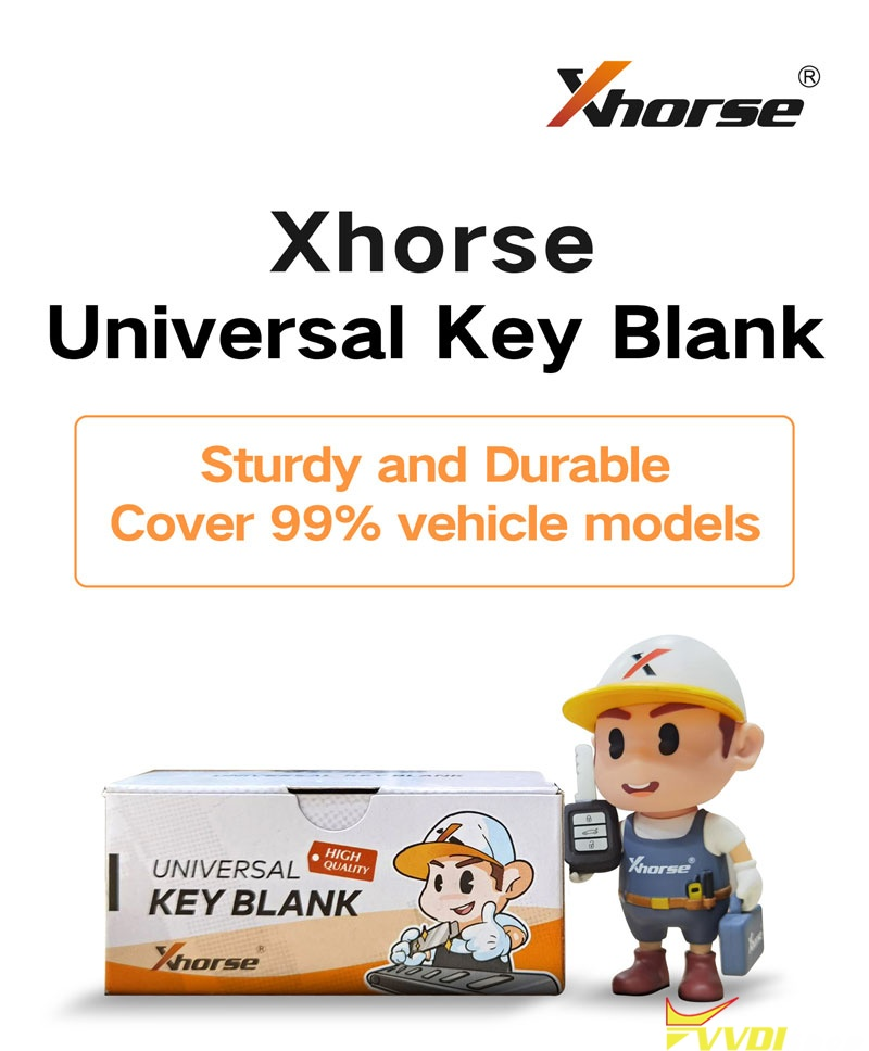 Xhorse Universal Key Blanks Super 003