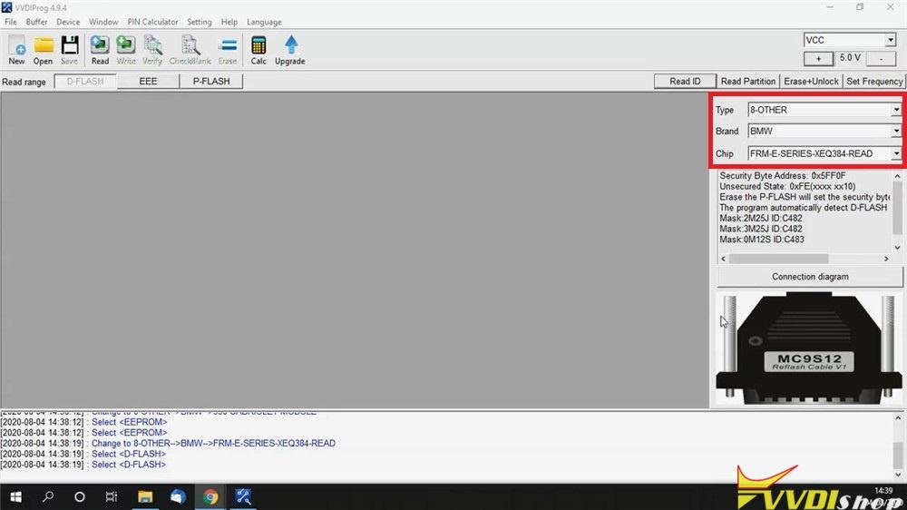 Repair Bmw Frm E Series Xeq384 Via Vvdi Prog (1)