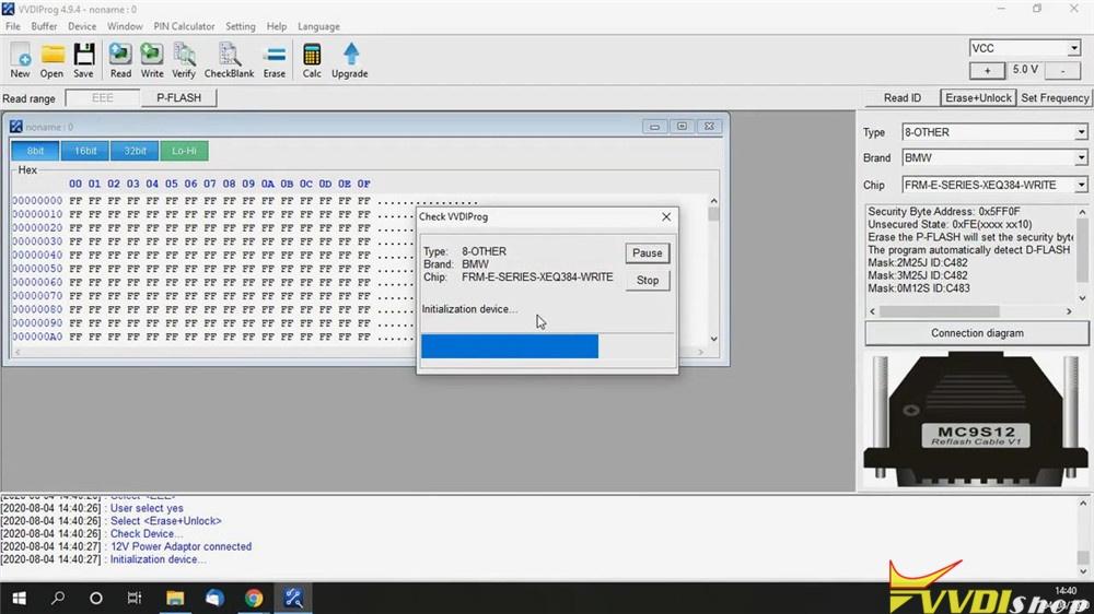 Repair Bmw Frm E Series Xeq384 Via Vvdi Prog (12)