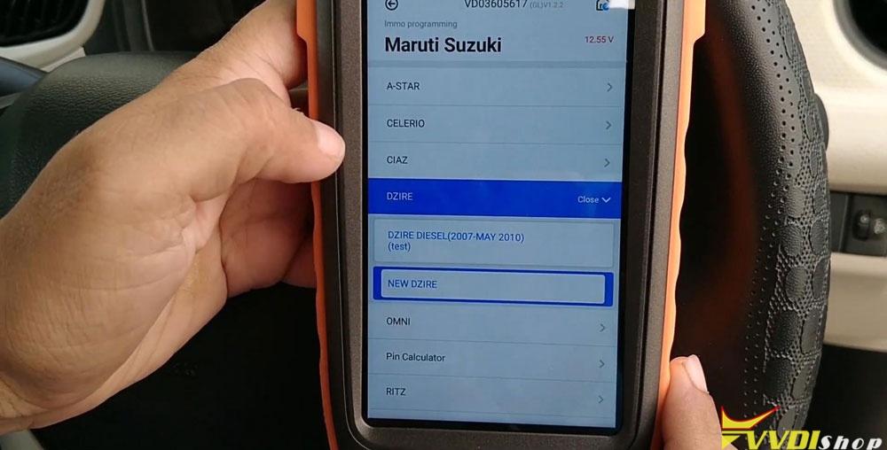 Vvdi Key Tool Max Mini Obd Tool Add Smart Key For Suzuki Dzire (10)