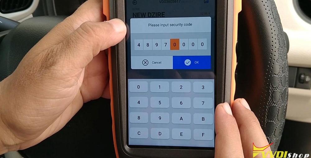 Vvdi Key Tool Max Mini Obd Tool Add Smart Key For Suzuki Dzire (15)