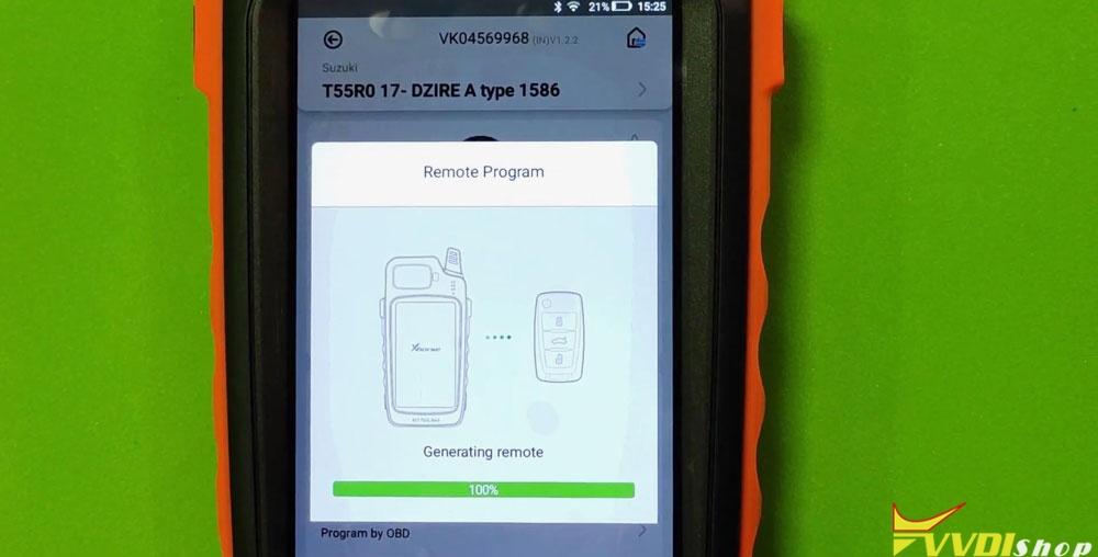 Vvdi Key Tool Max Mini Obd Tool Add Smart Key For Suzuki Dzire (5)