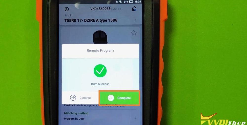 Vvdi Key Tool Max Mini Obd Tool Add Smart Key For Suzuki Dzire (6)