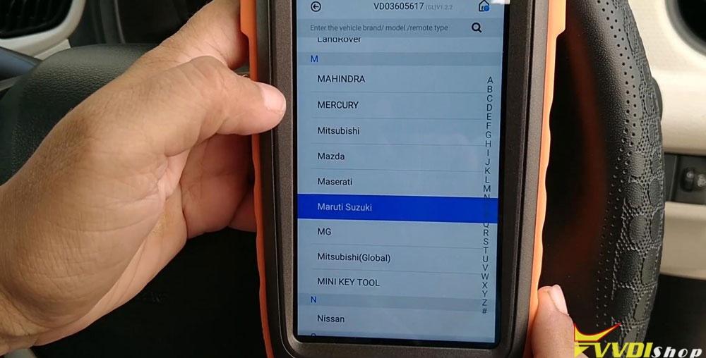 Vvdi Key Tool Max Mini Obd Tool Add Smart Key For Suzuki Dzire (9)