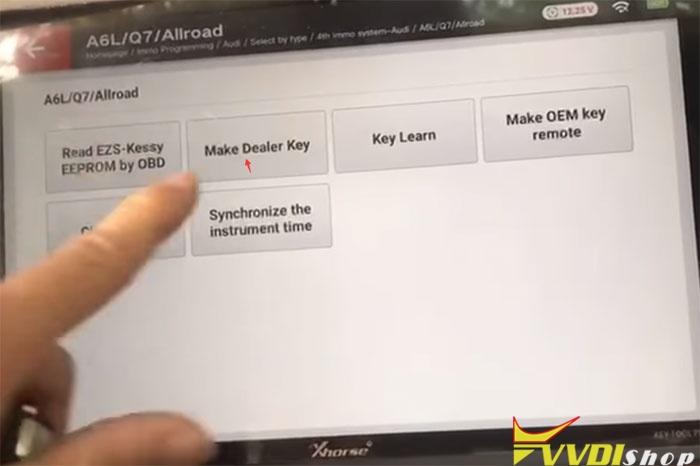Vvdi Key Tool Plus 2010 Audi Q7 11