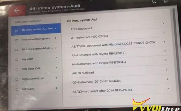 Vvdi Key Tool Plus 2010 Audi Q7 4
