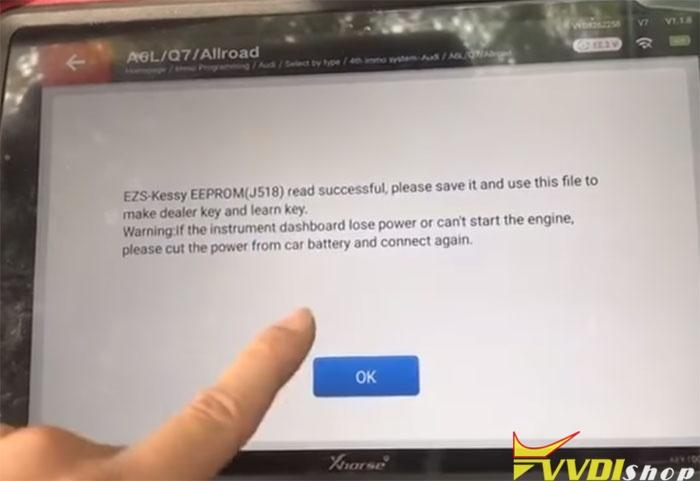 Vvdi Key Tool Plus 2010 Audi Q7 9