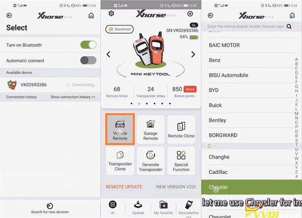 Vvdi Mini Key Tool Modify Smart Key Button Distance (2)