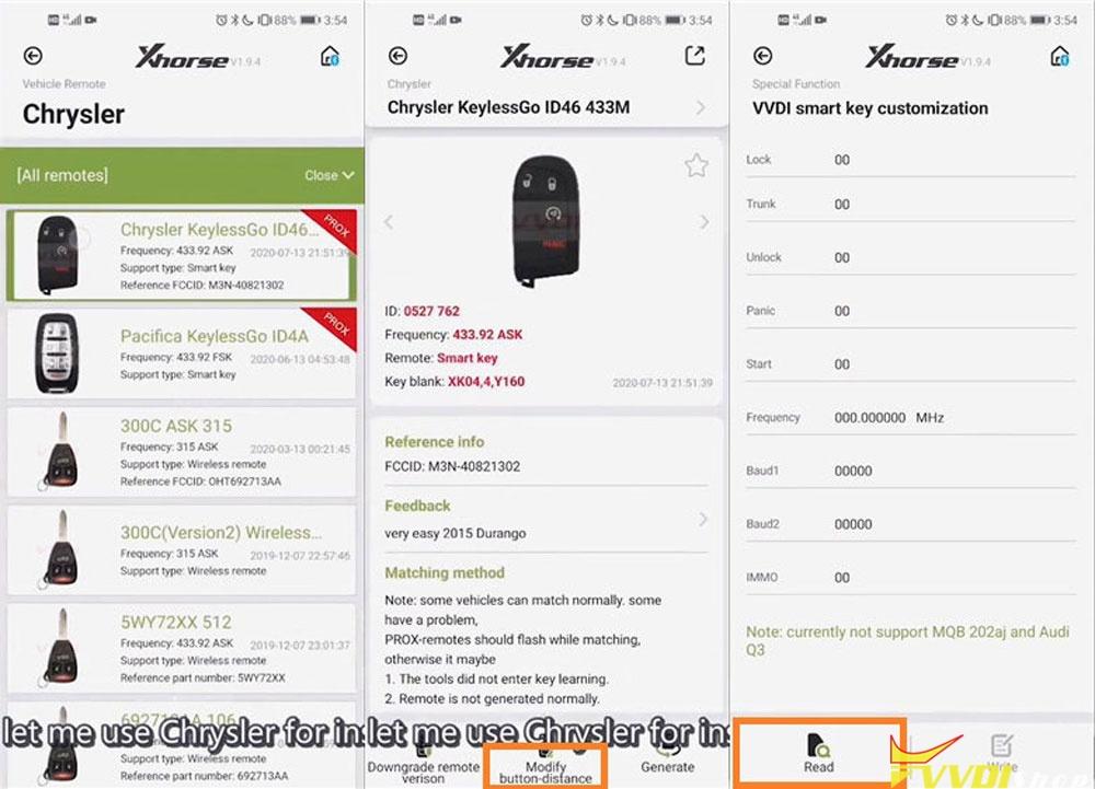 Vvdi Mini Key Tool Modify Smart Key Button Distance (3)