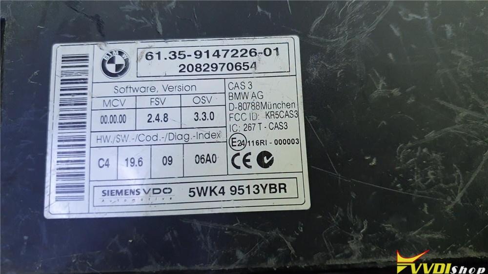 Vvdi2 Read Edit Bmw Cas3 Key Info On Bench (1)