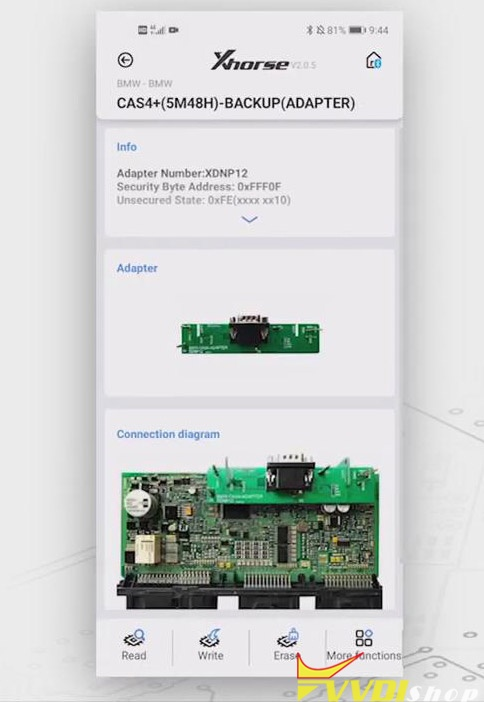 Xhorse Vvdi Mini Prog Standard Configuration And Function Overview 19