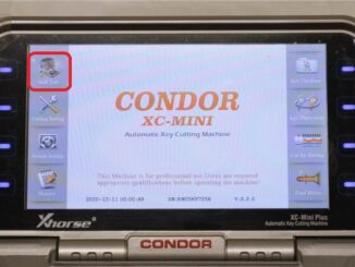 Calibrate Condor Xc Mini Plus Key Cutting Machine (1)