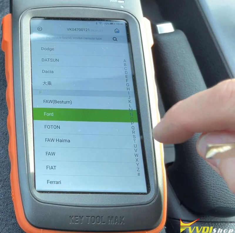 Ford Focus 2014 Adds A Key With Vvdi Key Tool Max (2)