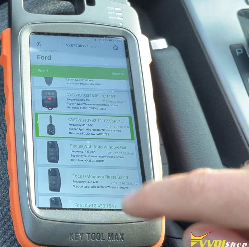 Ford Focus 2014 Adds A Key With Vvdi Key Tool Max (3)