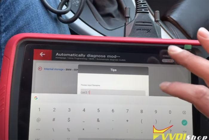 Vvdi Key Tool Plus Bmw Cas3 Akl 17
