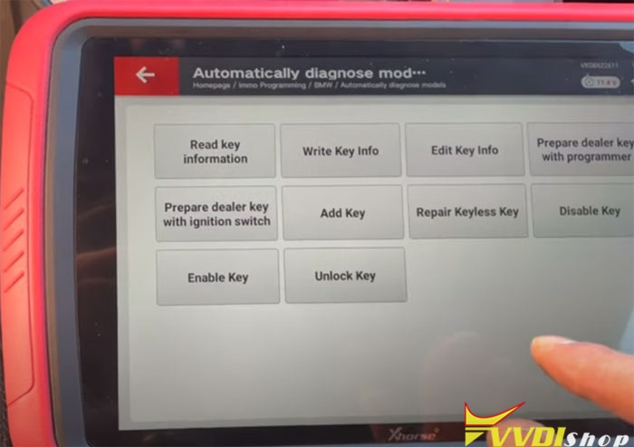 Vvdi Key Tool Plus Bmw Cas3 Akl 4