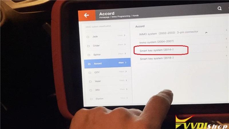 Vvdi Key Tool Plus Pad Program Honda Accord 2013 All Key Lost (5)
