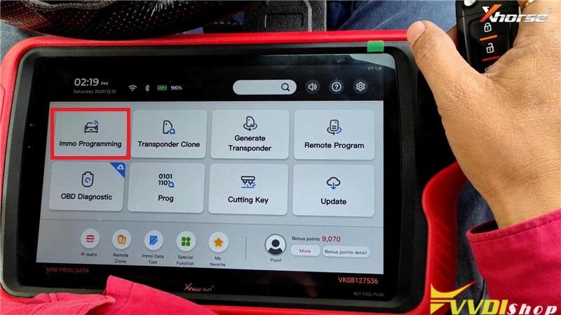 Vvdi Key Tool Plus Pad Program Hyundai Grand I10 Remote Key (10)
