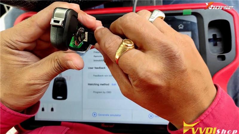 Vvdi Key Tool Plus Pad Program Hyundai Grand I10 Remote Key (8)