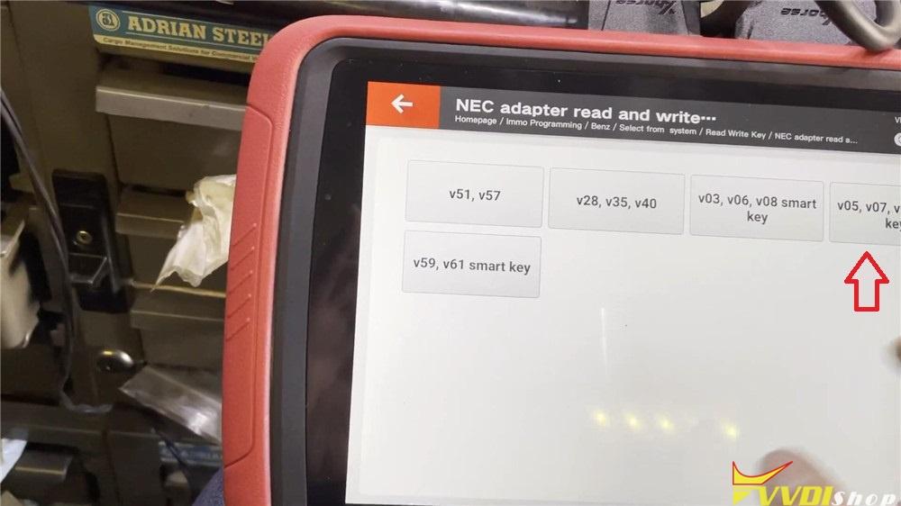 Vvdi Key Tool Plus Read 2004 Mercedes Sl500 Nec Adapter (6)