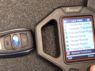 VVDI Key Tool Unlocks Subaru Smart Key HYQ14AHC 1