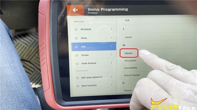 Mazda Cx 7 2007 Adds A Key By Vvdi Key Tool Plus Pad In 2mins (2)