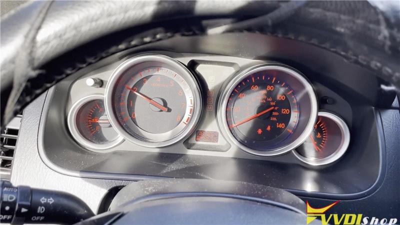 Mazda Cx 7 2007 Adds A Key By Vvdi Key Tool Plus Pad In 2mins (9)