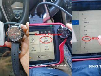 Program Xhorse Sw 007 Smart Remote Watch To A Car (1)
