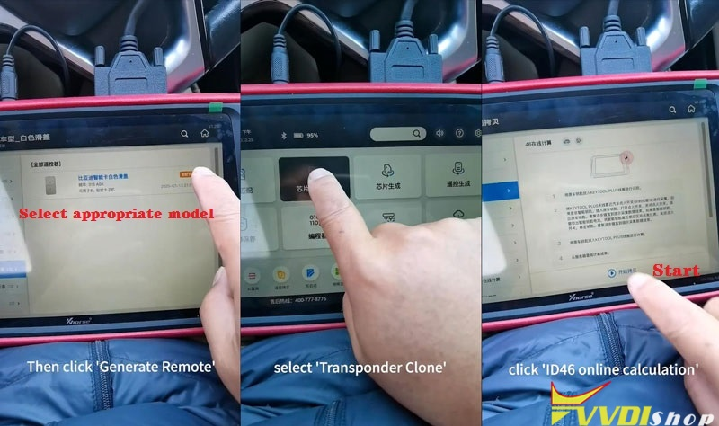 Program Xhorse Sw 007 Smart Remote Watch To A Car (2)