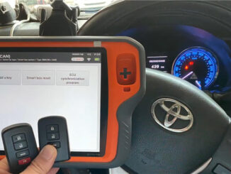 Vvdi Key Tool Plus Pad Add A Remote For Toyota Corrola Altis 2014 (1)